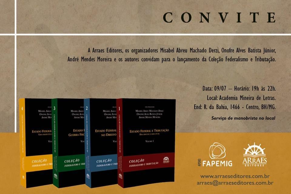 Convite - Federalismo e Tributacao